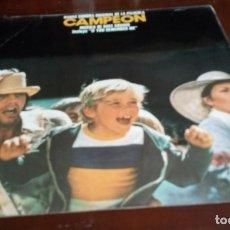 Discos de vinilo: CAMPEON - BSO - LP . Lote 173440194