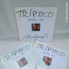 Discos de vinilo: TRIPTICO. VOLUMEN UNO-DOS-TRES. LP VOLUMEN 3 NUEVO SIN DESPRECINTAR. LP VINILO. AREITO.. Lote 173445295
