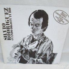 Discos de vinilo: SILVIO RODRIGUEZ. CUANDO DIGO FUTURO. LP VINILO. AREITO MOVIEPLAY. 1977. VER FOTOGRAFIAS ADJUNTAS. Lote 173445829
