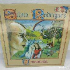 Discos de vinilo: SILVIO RODRIGUEZ. UNICORNIO. LP VINILO. FONOMUSIC. 1986. VER FOTOGRAFIAS ADJUNTAS. Lote 173446197