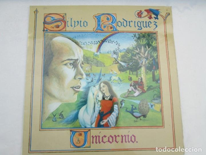 Discos de vinilo: SILVIO RODRIGUEZ. UNICORNIO. LP VINILO. FONOMUSIC. 1986. VER FOTOGRAFIAS ADJUNTAS - Foto 2 - 173446197