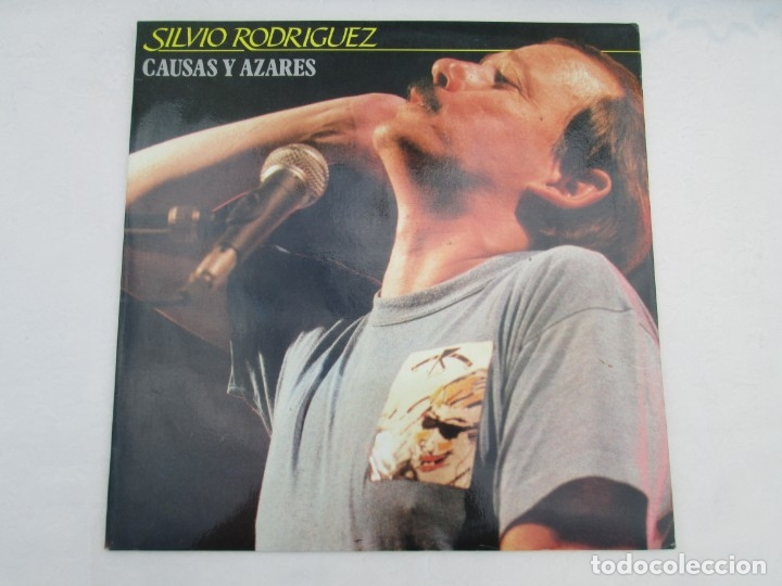 Discos de vinilo: SILVIO RODRIGUEZ. CAUSAS Y AZARES. LP VINILO. FONOMUSIC. 1986. VER FOTOGRAFIAS ADJUNTAS - Foto 2 - 173446568