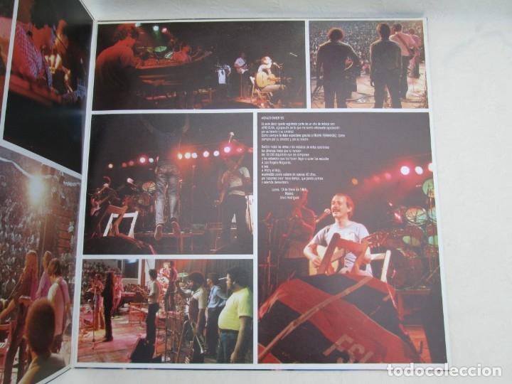 Discos de vinilo: SILVIO RODRIGUEZ. CAUSAS Y AZARES. LP VINILO. FONOMUSIC. 1986. VER FOTOGRAFIAS ADJUNTAS - Foto 4 - 173446568