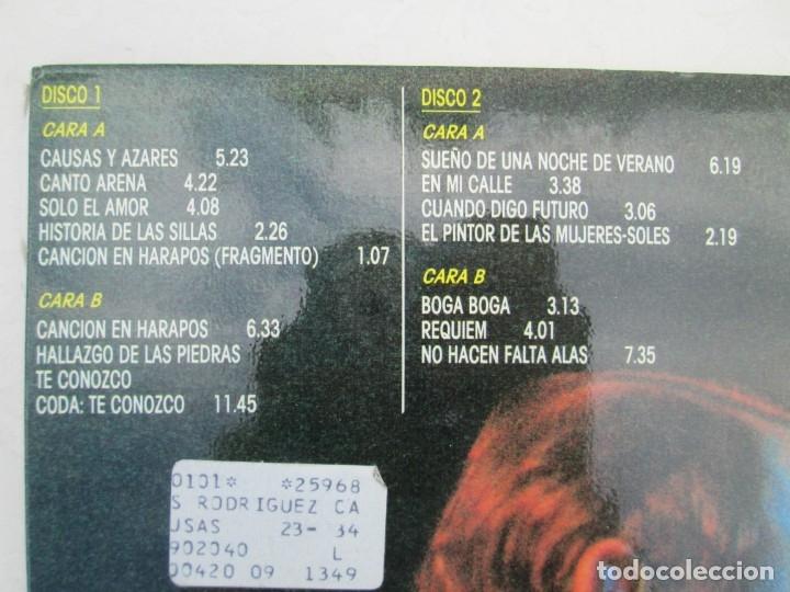 Discos de vinilo: SILVIO RODRIGUEZ. CAUSAS Y AZARES. LP VINILO. FONOMUSIC. 1986. VER FOTOGRAFIAS ADJUNTAS - Foto 5 - 173446568