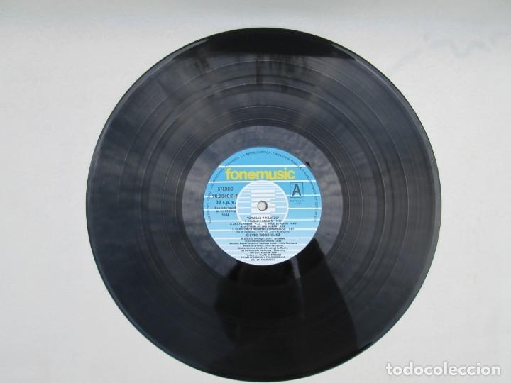 Discos de vinilo: SILVIO RODRIGUEZ. CAUSAS Y AZARES. LP VINILO. FONOMUSIC. 1986. VER FOTOGRAFIAS ADJUNTAS - Foto 10 - 173446568