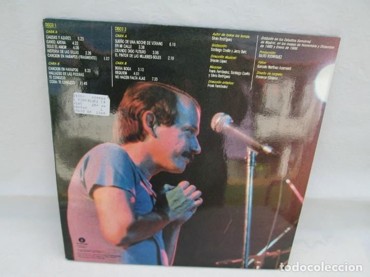 Discos de vinilo: SILVIO RODRIGUEZ. CAUSAS Y AZARES. LP VINILO. FONOMUSIC. 1986. VER FOTOGRAFIAS ADJUNTAS - Foto 15 - 173446568