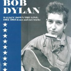 Discos de vinilo: BOB DYLAN * LP VINILO * WALKIN' DOWN THE LINE COLLECTOR'S EDITION * 500 COPIAS!!! PRECINTADO!!. Lote 173449007