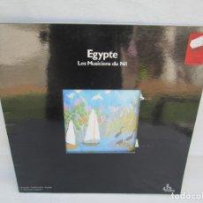 Discos de vinilo: EGYPTE. LES MUSICIENS DU NIL. LP VINILO. OCORA. 1982. VER FOTOGRAFIAS ADJUNTAS. Lote 173451240