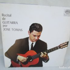 Discos de vinilo: RECITAL DE GUITARRA POR JOSE TOMAS. LP VINILO. RECORD DIM. 1968. VER FOTOGRAFIAS ADJUNTAS. Lote 173451334
