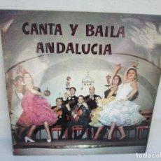 Discos de vinilo: CANTA Y BAILA ANDALUCIA. LP VINILO. COLUMBIA. 1962. VER FOTOGRAFIAS ADJUNTAS. Lote 173451389