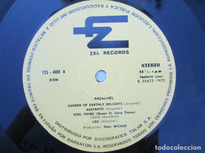 Discos de vinilo: ARZACHEL. DISCOGRAFIA TALAR ZEL RECORDS. 1970. LP VINILO. VER FOTOGRAFIAS ADJUNTAS - Foto 4 - 173452134
