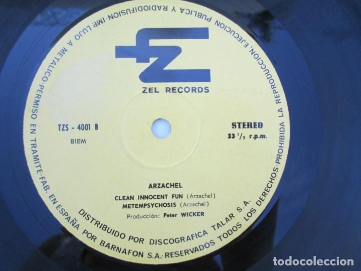 Discos de vinilo: ARZACHEL. DISCOGRAFIA TALAR ZEL RECORDS. 1970. LP VINILO. VER FOTOGRAFIAS ADJUNTAS - Foto 6 - 173452134