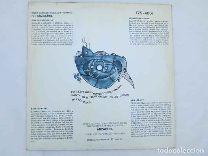 Discos de vinilo: ARZACHEL. DISCOGRAFIA TALAR ZEL RECORDS. 1970. LP VINILO. VER FOTOGRAFIAS ADJUNTAS - Foto 7 - 173452134