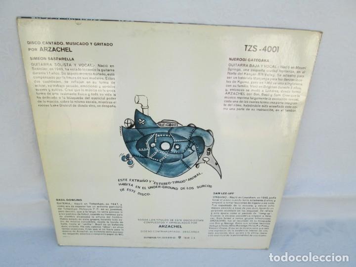 Discos de vinilo: ARZACHEL. DISCOGRAFIA TALAR ZEL RECORDS. 1970. LP VINILO. VER FOTOGRAFIAS ADJUNTAS - Foto 8 - 173452134