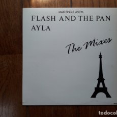 Discos de vinilo: FLASH AND THE PAN - AYLA (DISCO MIX) + AYLA (OUTTA TOWN MIX) . Lote 173453462