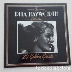 Discos de vinilo: RITA HAYWORTH THE COLLECTION 20 GOLDEN GREATS LP DEJA VU . Lote 173456479