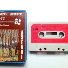 Discos de vinilo: CASSETTE: ASEARI - EUSKAL HERRIA 76-77 (ELKAR, 1977) EDICION ELKAR FRANCIA -FOLK VASCO EUSKAL MUSIKA. Lote 173460803