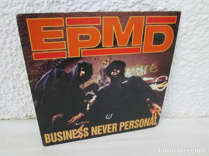 EPMD. BUSINESS NEVER PERSONAL. LP VINILO. DEF JAM RECORDINGS. 1992. VER FOTOGRAFIAS ADJUNTAS (Música - Discos - LP Vinilo - Rap / Hip Hop)