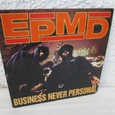 Discos de vinilo: EPMD. BUSINESS NEVER PERSONAL. LP VINILO. DEF JAM RECORDINGS. 1992. VER FOTOGRAFIAS ADJUNTAS. Lote 173463590