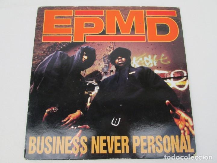 Discos de vinilo: EPMD. BUSINESS NEVER PERSONAL. LP VINILO. DEF JAM RECORDINGS. 1992. VER FOTOGRAFIAS ADJUNTAS - Foto 2 - 173463590