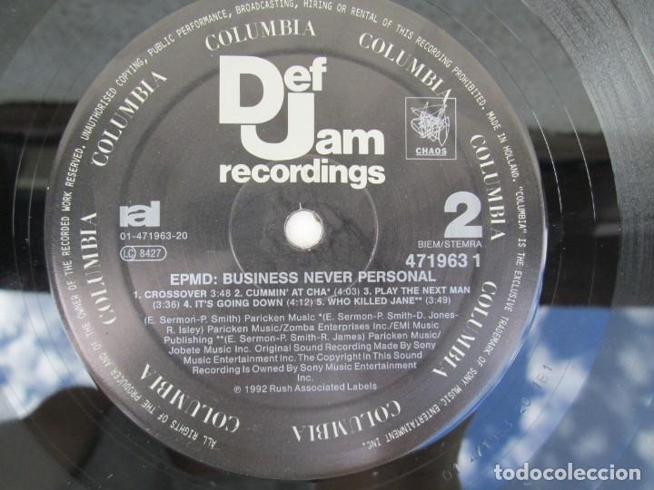 Discos de vinilo: EPMD. BUSINESS NEVER PERSONAL. LP VINILO. DEF JAM RECORDINGS. 1992. VER FOTOGRAFIAS ADJUNTAS - Foto 6 - 173463590