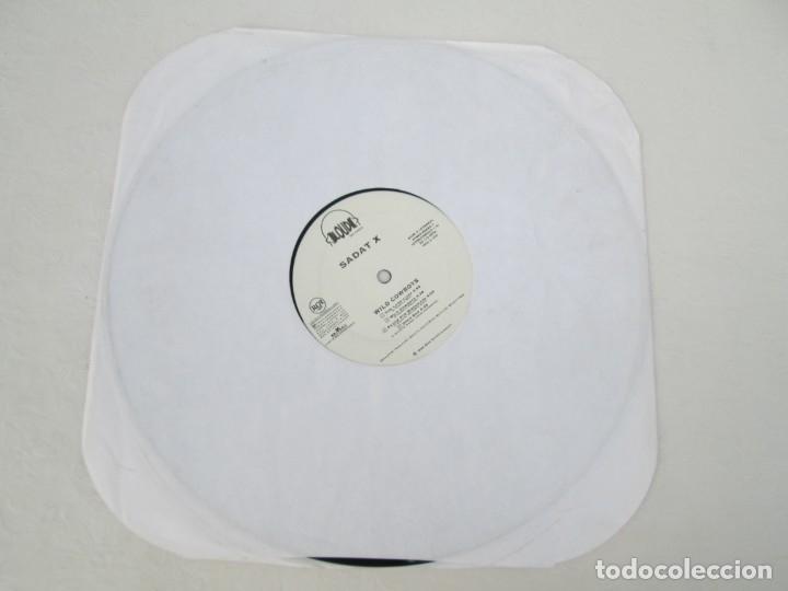 Discos de vinilo: SADAT X. WILD COWBOYS. LP VINILO. LOUD RECORDS. 1996. NO CONTIENE ESTUCHE. VER FOTOGRAFIAS ADJUNTAS - Foto 6 - 173464504