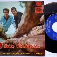 Discos de vinilo: DUO DINAMICO - LA VERDAD - EP 1965 - LA VOZ DE SU AMO. Lote 173464584