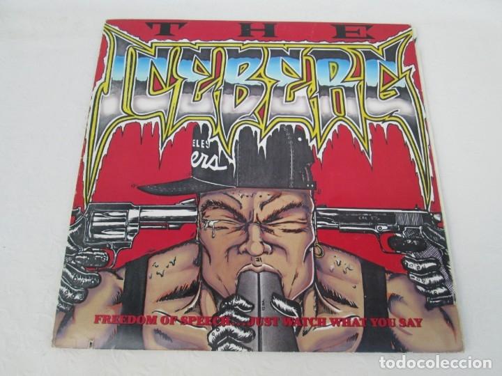 Discos de vinilo: ICE-T. THE ICEBERG. FREEDOM OF SPEECH...JUST WATH WHAT YOU SAY. SIRE RECORDS 1989. VER FOTOGRAFIAS - Foto 2 - 173465377