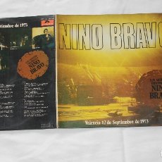 Discos de vinilo: VINILO: LOS ARTISTAS ESPAÑOLES A NINO BRAVO - POLYDOR 1973. Lote 173465430