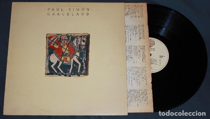VINILO: PAUL SIMON - GRACELAND - SPAIN (Música - Discos - LP Vinilo - Cantautores Internacionales)