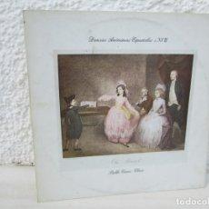 Discos de vinilo: DANZAS ANONIMAS ESPAÑOLAS S. XVII. PABLO CANO: CLAVE. LP VINILO. EDIGSA 1980.. Lote 173465990
