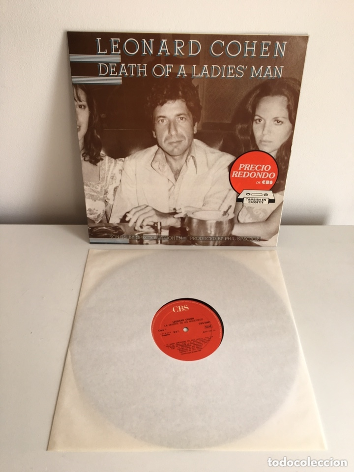 Discos de vinilo: LP - LEONARD COHEN - Dead of a Ladies' man - Foto 4 - 173472895
