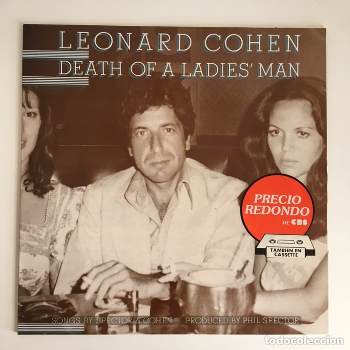 Discos de vinilo: LP - LEONARD COHEN - Dead of a Ladies' man - Foto 1 - 173472895