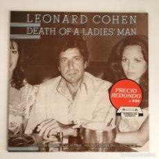 Discos de vinilo: LP - LEONARD COHEN - DEAD OF A LADIES' MAN. Lote 173472895