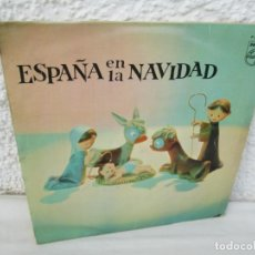 Discos de vinilo: ESPAÑA EN LA NAVIDAD. LP VINILO. PHILIPS RECORDS. 1962. VER FOTOGRAFIAS ADJUNTAS. Lote 173474102