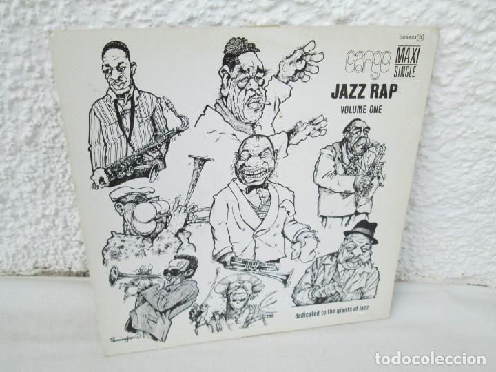 JAZZ RAP VOLUME ONE. CARGO. MAXI SINGLE VINILO. SERDISCO PRT. 1986. ZAFIRO. VER FOTOGRAFIAS (Música - Discos de Vinilo - Maxi Singles - Jazz, Jazz-Rock, Blues y R&B)