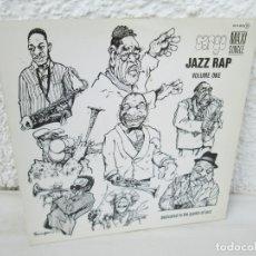 Discos de vinilo: JAZZ RAP VOLUME ONE. CARGO. MAXI SINGLE VINILO. SERDISCO PRT. 1986. ZAFIRO. VER FOTOGRAFIAS. Lote 173474309