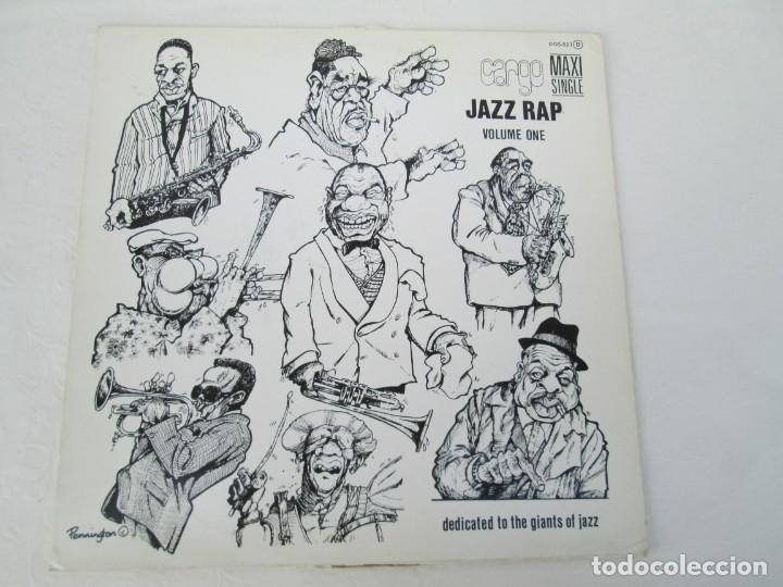 Discos de vinilo: JAZZ RAP VOLUME ONE. CARGO. MAXI SINGLE VINILO. SERDISCO PRT. 1986. ZAFIRO. VER FOTOGRAFIAS - Foto 2 - 173474309