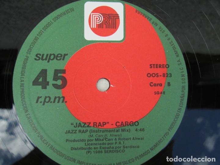 Discos de vinilo: JAZZ RAP VOLUME ONE. CARGO. MAXI SINGLE VINILO. SERDISCO PRT. 1986. ZAFIRO. VER FOTOGRAFIAS - Foto 6 - 173474309