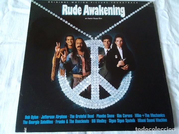 23-LP BANDA SONORA RUDE AWAKENING DE AARON RUSSO, 1989 (Música - Discos de Vinilo - EPs - Bandas Sonoras y Actores)