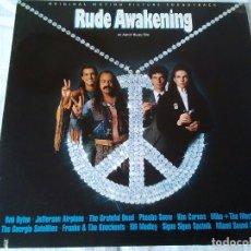 Discos de vinilo: 23-LP BANDA SONORA RUDE AWAKENING DE AARON RUSSO, 1989. Lote 173478304