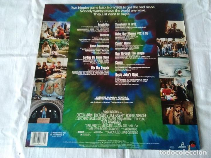 Discos de vinilo: 23-LP BANDA SONORA RUDE AWAKENING DE AARON RUSSO, 1989 - Foto 3 - 173478304