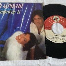 Discos de vinilo: 7-SINGLE RICCHI E POVERY- ME ENAMORO DE TI. Lote 173478820