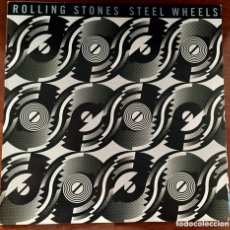 Discos de vinilo: THE ROLLING STONES. STEEL WHEELS. LP.. Lote 173482915