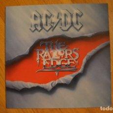 Discos de vinilo: AC-DC THE RAZORS EDGE 1990 LP ATCO RECORDS  GERMANY. Lote 173483164