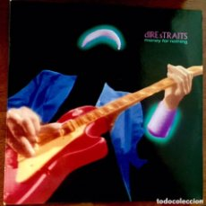 Discos de vinilo: DIRE STRAITS. MONEY FOR NOTHING. LP.. Lote 173485410