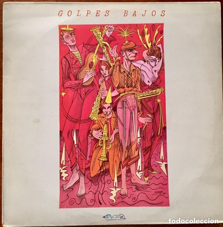 GOLPES BAJOS. MAXI SINGLE. MALOS TIEMPOS PARA LA LIRICA, NO MIRES A LOS OJOS DE LA GENTE, (Música - Discos de Vinilo - Maxi Singles - Grupos Españoles de los 70 y 80)