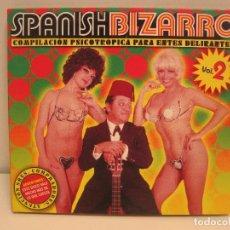 Discos de vinilo: SPANISH BIZARRO VOLUMEN 2 - FERNANDO ESTESO P. RUIZ + DISCO DE REGALO LOS HERMANOS CALATRAVA 45RPM. Lote 173488365