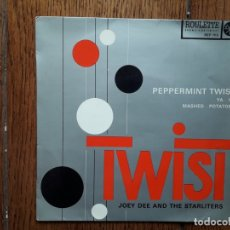 Discos de vinilo: JOEY DEE AND THE STARLITENS - PEPPERMINT TWIST + YA YA + MASHED POTATOES . Lote 173496275