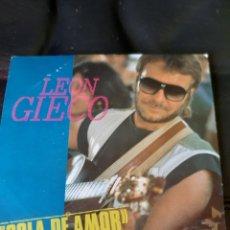 Discos de vinilo: LEON GIECO. COLA DE AMOR. 1988. Lote 173499750